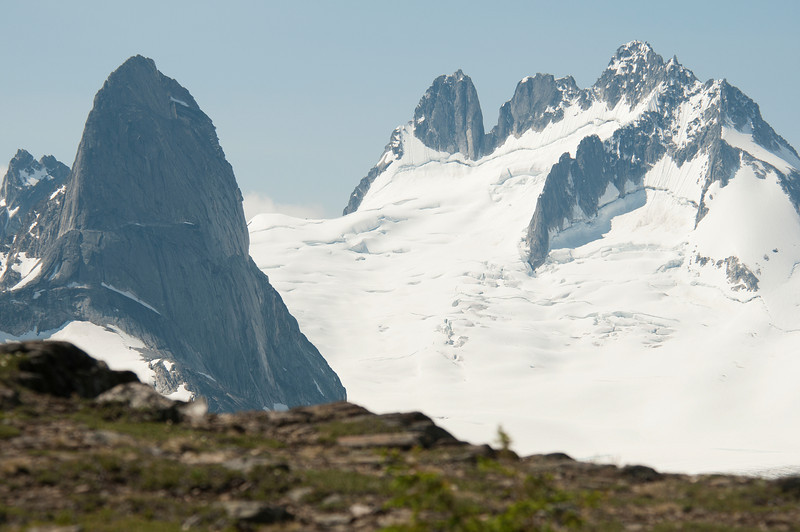 Bugaboo and the Howsers from Rocky Point Ridge