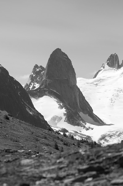 Bugaboo Spire from Rocky Point Ridge