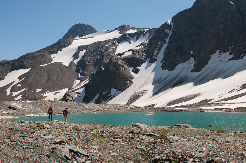 Hiking in the headwaters of Frances Creek