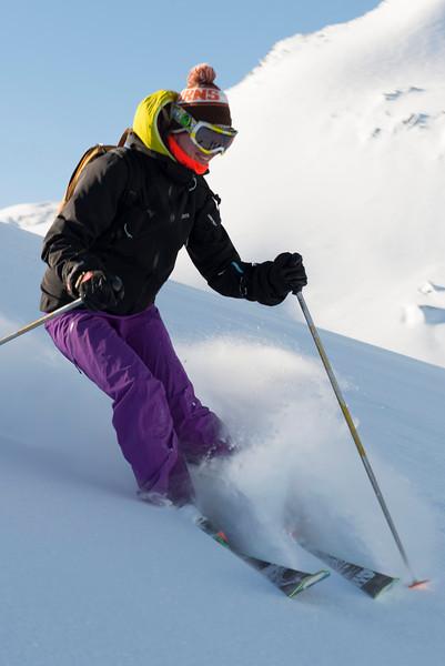 Selkirk skiing