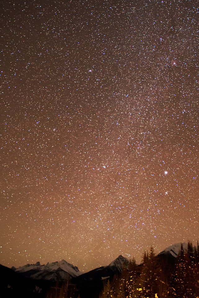 Stars over the Vowell