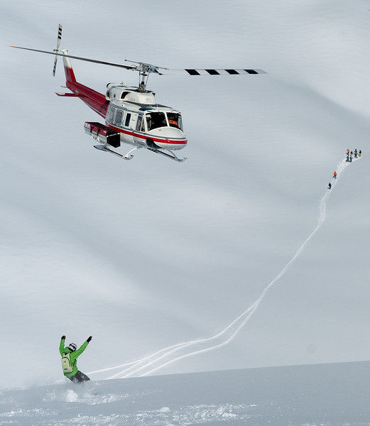 Heli Shreddin'!