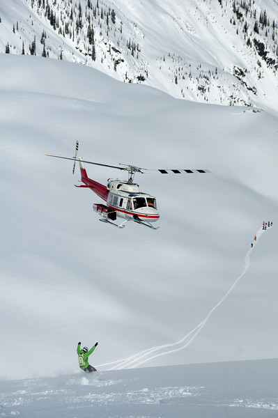 More Heli Shreddin'!
