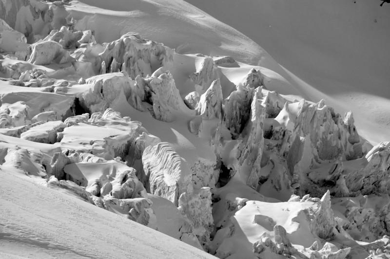 Malloy Glacier Seracs