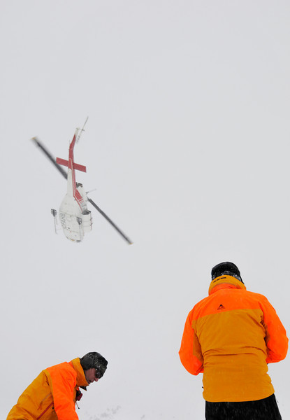 Heli Guides on Powder Pig
