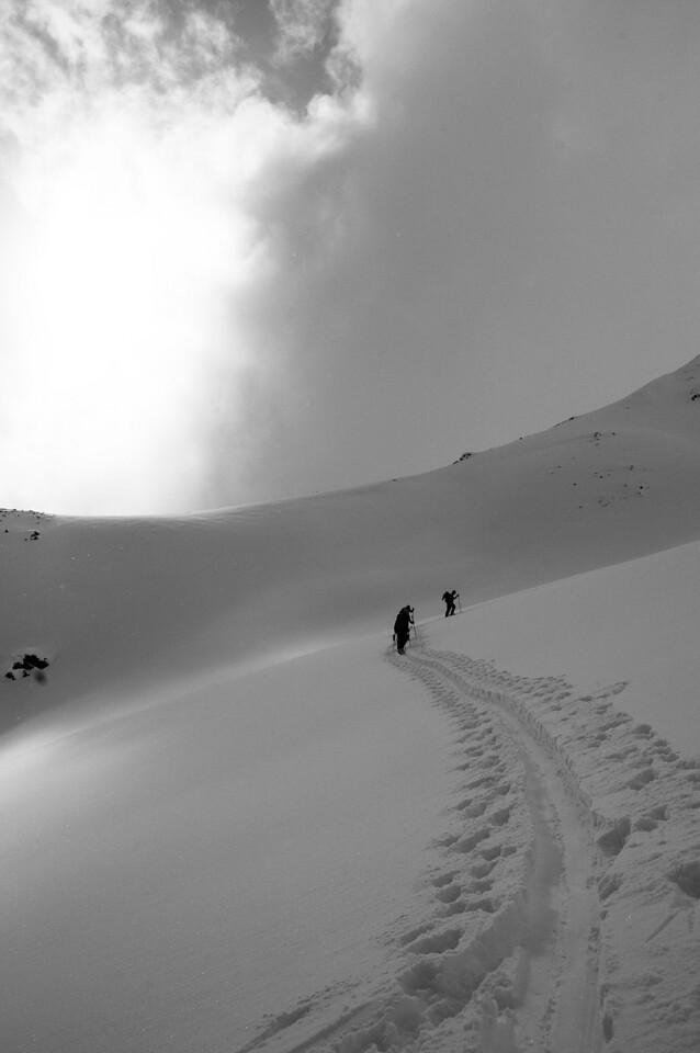 Skinning up in the Kain Basin