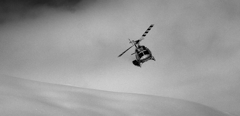 Paul flying down Wolfin