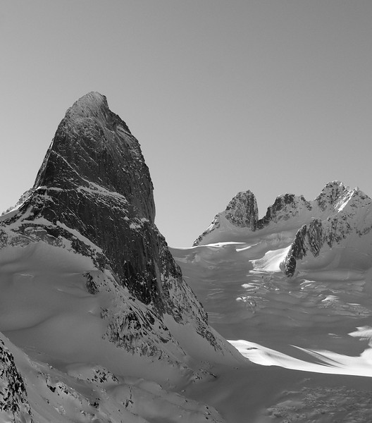 Bugaboos Spire and the Howsers