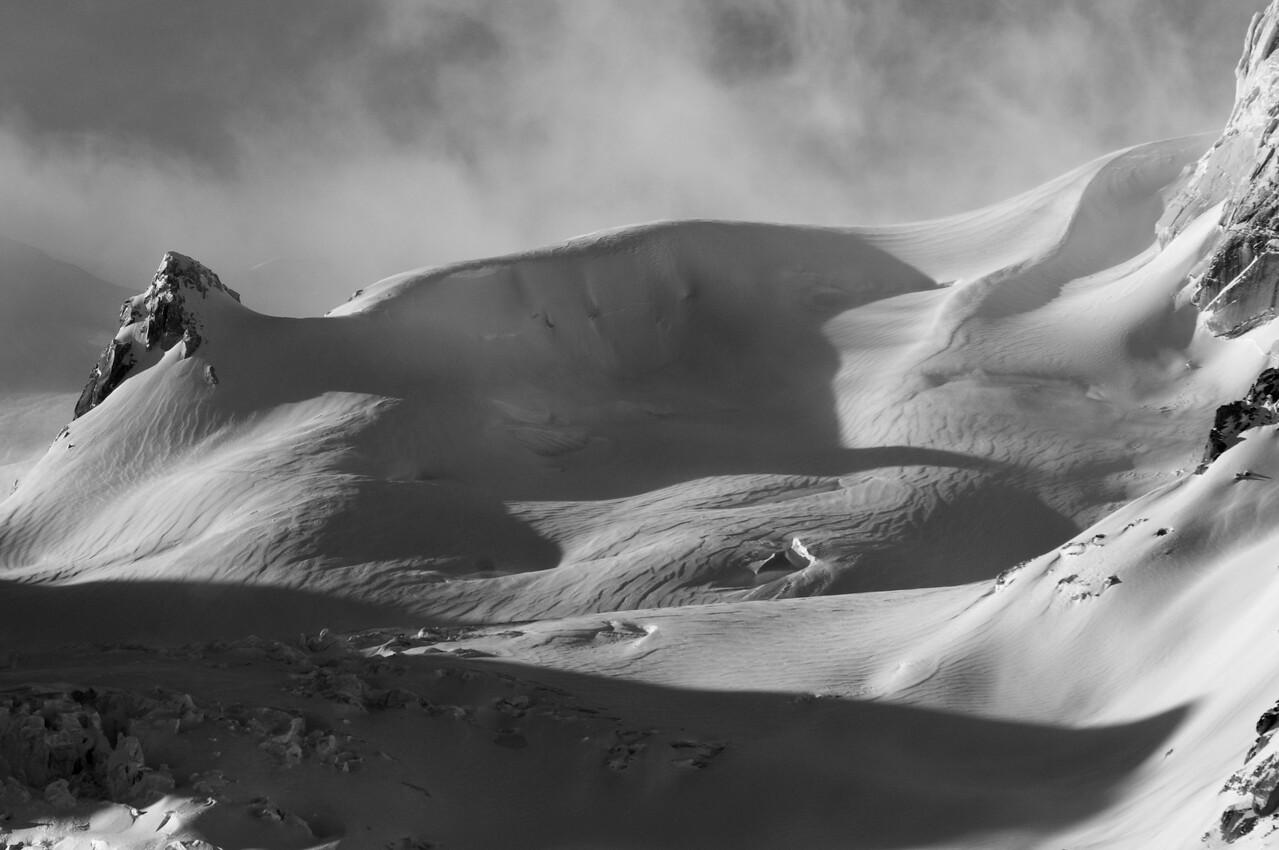 Windswept Bugaboo Glacier
