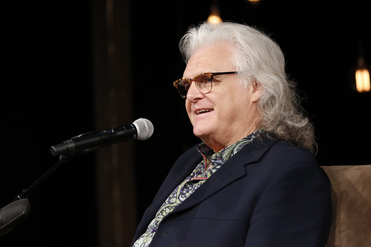 Ricky Skaggs interview at the Country Music Hall of Fame and Museum on May 13, 2017. Photos by Donn Jones Photography.