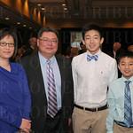 Sanggil and Berlin Tsai, Kevin and Kenny Tien.