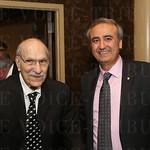 Dr. Joseph E Kutz and Interim President of CMKI Dr. Tuna Ozyurekoglu.