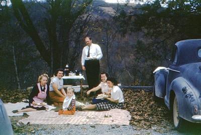1946 Picnic place near Mt. Washington