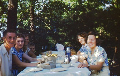 1947 Picnic on Pinnacle