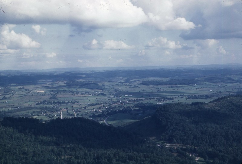 1947 view from Pinnacle