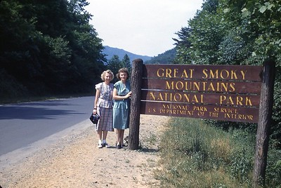 1948 Naomi at Great Smoky Mountains