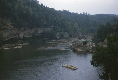 1948 River below Cumberland Falls