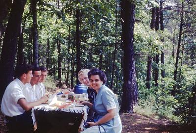1949 Picnic at Cumberland Falls