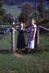 1949 Evie and Marian
