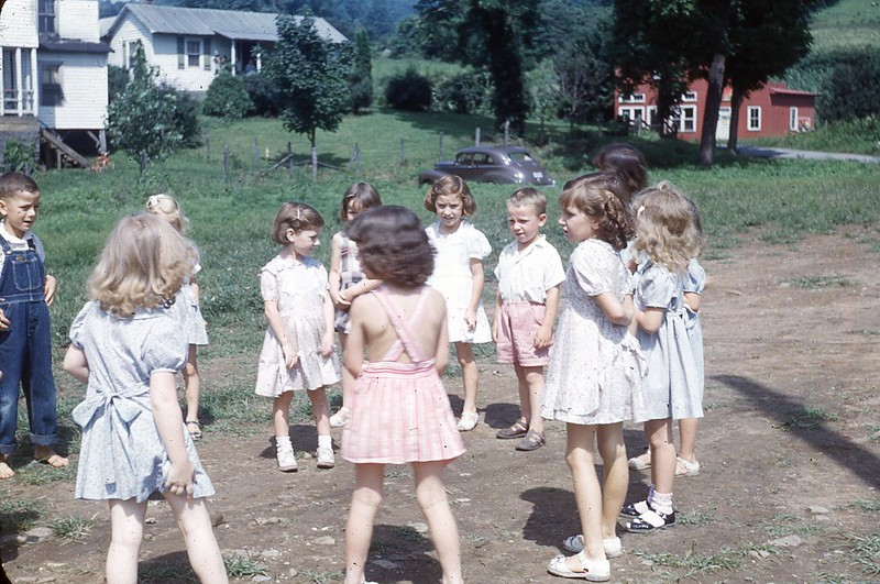 1949 Begginers at Play Stickleyville DVBS