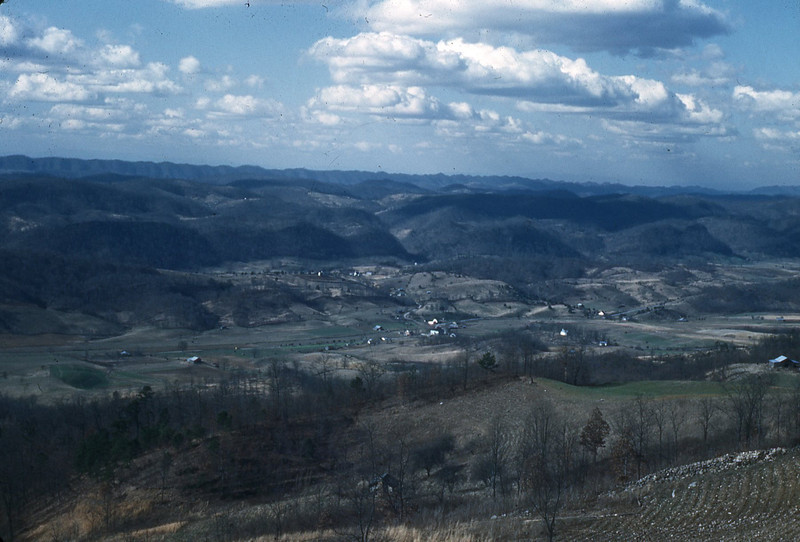 1950 - View from Powell Mt.