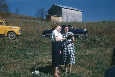 October 1950 - Groundbreaking service for Larimer Chapel