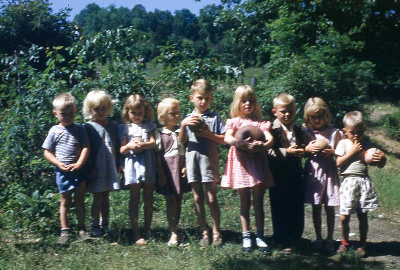 1950 - Beginners at Oak Grove DVBS