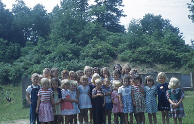 1950 - Beginners and Primary Pupils play at Calvin DVBS