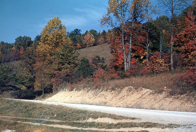 1951 Autumn - Across road from Sand Springs
