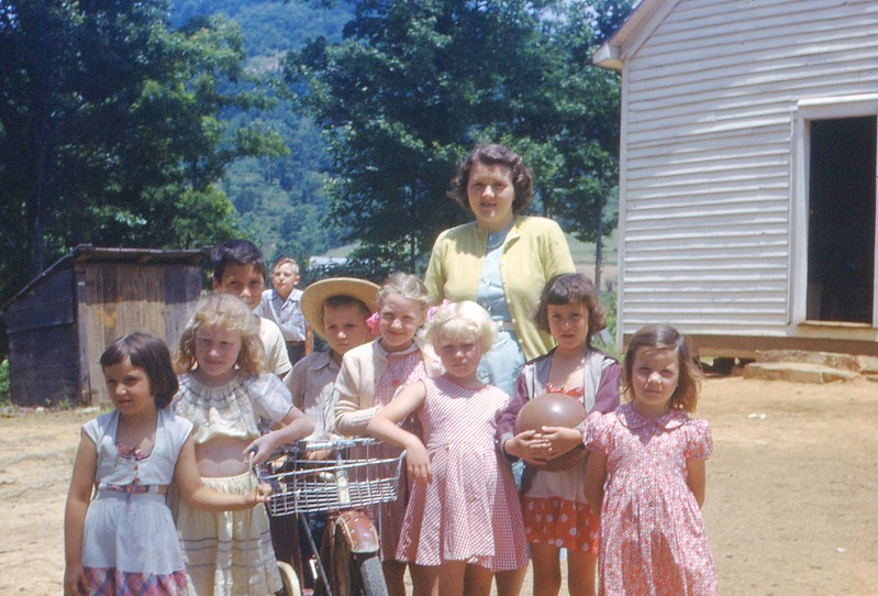 1951 - June DVBS Sheepshank Primary