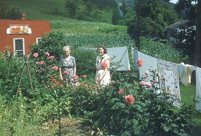 July 1951 Alma Rasnic and Winnie