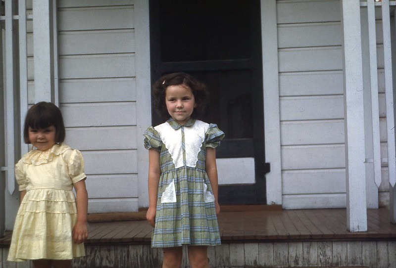 1951 May - Mary Ann and Audry