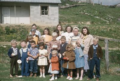 April 1951 - Larimer Saturday Class