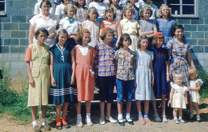 1951August - Girls Camp