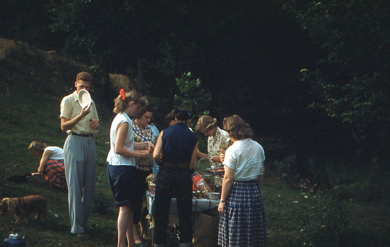 1952 - July 4th Supper