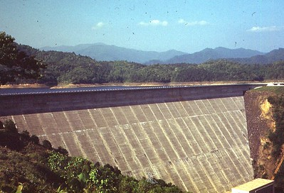 1952 May - Fontana Dam, Lower Side