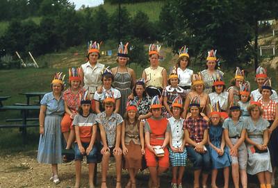 1953-''GIRLS CAMP''
