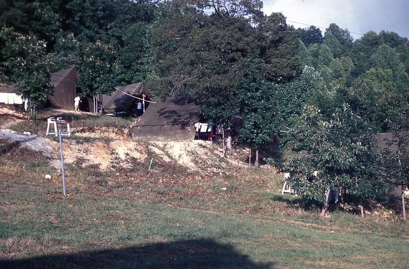 1953 - Camp Tents