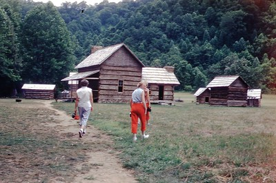 1954 - Old Homestead in Smokies