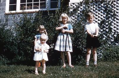 1955 Hamilton children
