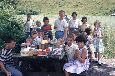1955 DVBS Picnic Stickleyville