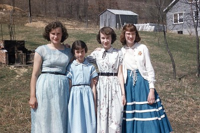 1955 Girls from Mt  Washington