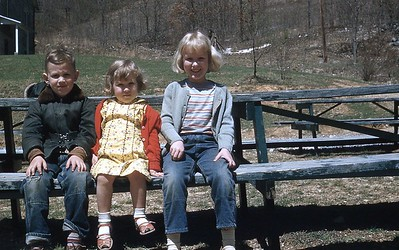 1955 David, Ruth, Rachael