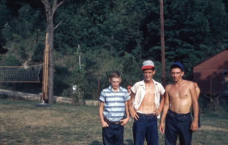 1957 Lowell Parsons, Herbie Parkey, Larry Gullion