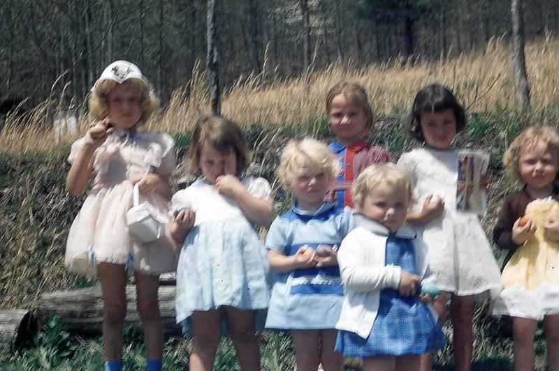 1957  Easter Egg Hunt Mt  Washington