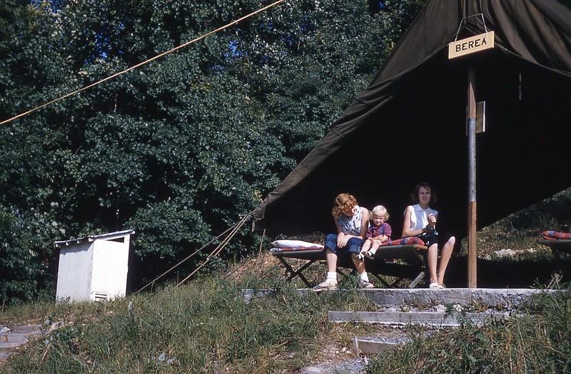 1957 Berea tent