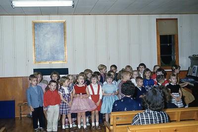 1957 Christmas Program