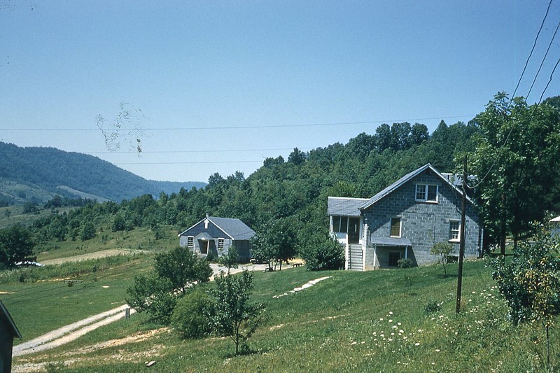 1957 House and chapel Mt  Washington