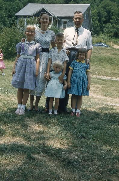 1957 Hamilton family