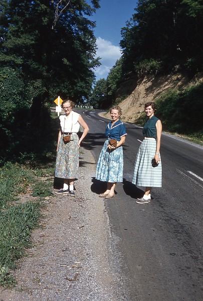1957 Naomi, Fran, Coranne